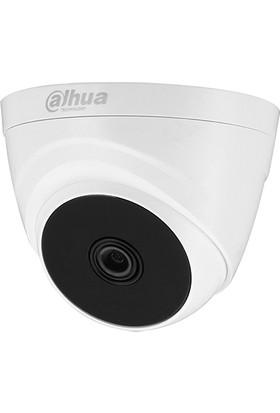 Dahua HAC-T1A21-0280B 2mp 2.8mm Cmos 1080P Tvı/ahd /cvı/cvbs Plastık Kasa Ir Dome Kamera