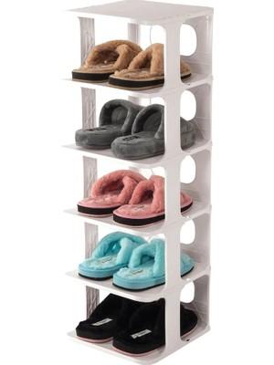 Elasya Hediyelik 5 Katlı Pratik Ayakkabılık - Ayakkabı Rafı