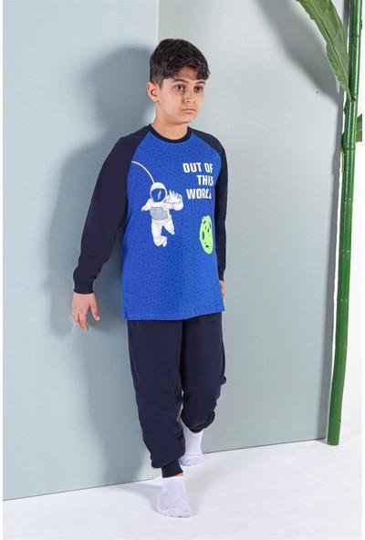 Erdem İç Giyim Uzun Kollu Erkek Çocuk Pijama Takımı