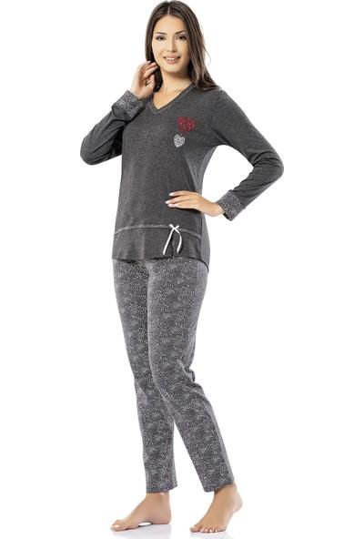 Erdem İç Giyim Erdem Bayan Kışlık Pijama Takımı