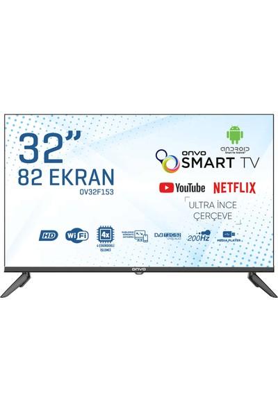 """Onvo OV32F153 32"""" 81 Ekran Uydu Alıcılı HD Android LED TV"""