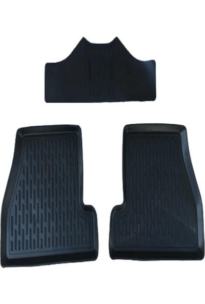 Tegin Nissan Juke 2012 3D Siyah Havuzlu Paspas