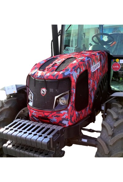 Binbir Trend Erkunt 60E Kabinli Traktör Kaporta Brandası