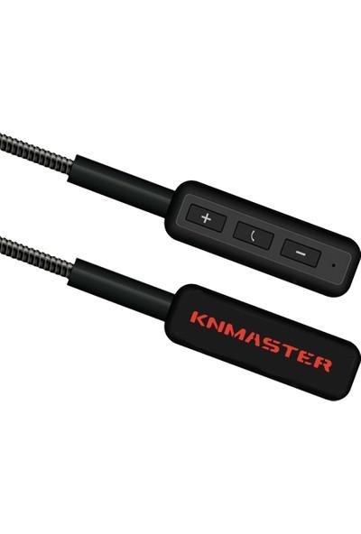 Knmaster KN100 Eco Motosiklet Bluetooth İnterkom Kulaklık Mikrofon Seti