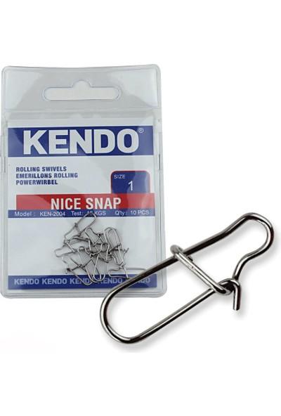 Kendo Nice Snap 10 Adet (Rapala Klips)