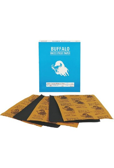 Buffalo Su Zımparası 60 Kum - 100 Adet