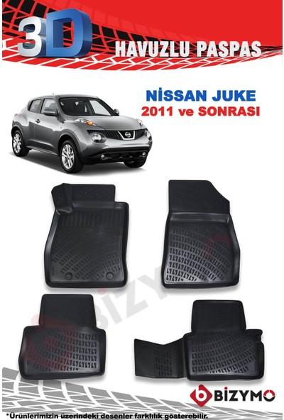 Bizymo Nissan Juke 2014-2019 3D Havuzlu Paspas Takımı Bizymo