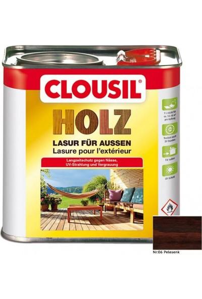 CLOU Clousil Solvent Bazlı Renkli Ahşap Koruyucu 2.5litre 06 Pelesenk