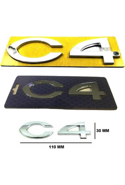 Opr Citroen C4 Bagaj Yazısı 2004-2010