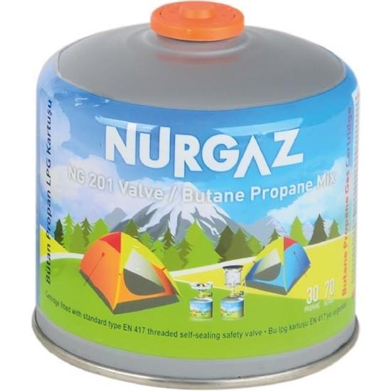 Nurgaz 450 gr Vidalı Kartuş