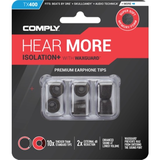 Comply Foam Tx-400 İzolasyon Plus Kulaklık Ucu (M) - 3 Çift