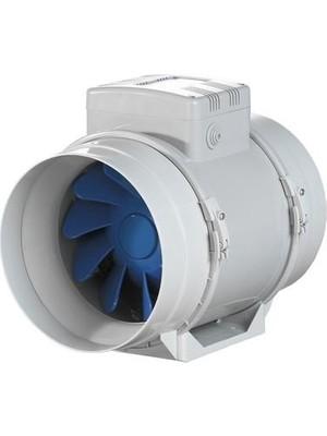 Blauberg Turbo-E 125 Karışık Akışlı Kanal Fanı 220 M³/h Ses Seviyesi 28 Dba Sessiz Tasarruflu Güç 23 W Pvc Gövde Agmair