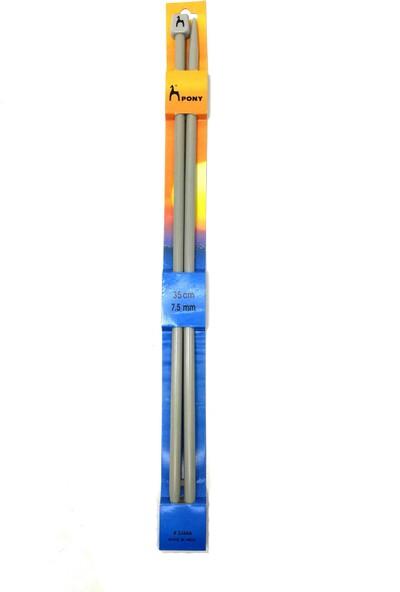 Pony Örgü Şişi 7.5mm 35CM