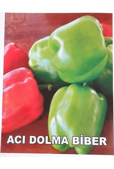 Agrodal Tarım Ata Tohumu Yöresel Doğal Acı Dolma Biberi 100 Ad Tohum