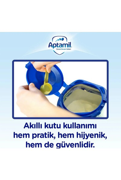 Aptamil 4 1200 gr ve Aptamil 4 350 gr Çocuk Devam Sütü 1 Yaş