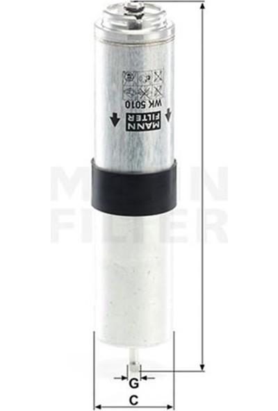Mann Yakıt Filtresi E90 316D-318D-320D 05 E84 X1 09 Mann WK5010Z
