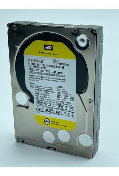 "Wd 4.3tb 7200RPM Enterprıse Class 3.5"" HDD WD450VF4YZ"