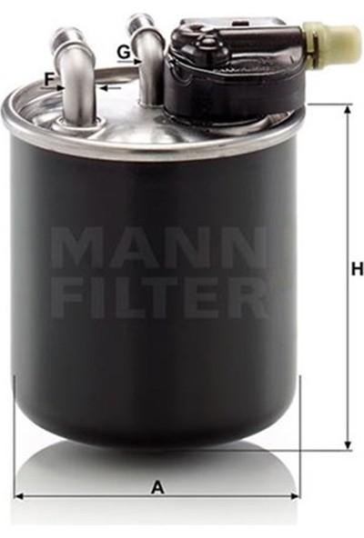 Mann Yakıt Filtresi Mercedes W176 A160 Cdi A180CDI 12 W242 W246 C117 13 X117 15 X156 14 Mann WK820.22