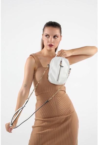 Sarach Kadın Çapraz Çanta C403 Beyaz