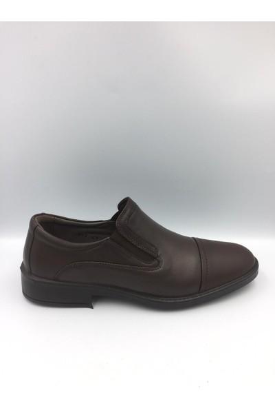 Esse 887 Erkek Klasik Ayakkabı Koyu Kahve