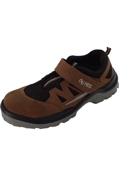 Hds Flx Trigon S1 Ayakkabı Cırtlı Kahve