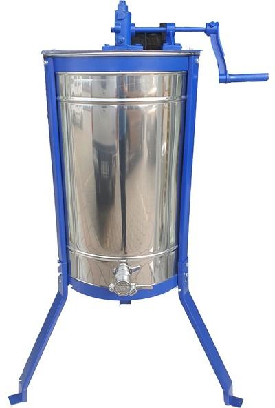 Başoğlu 3'lü Bal Süzme Makinesi - Temiz Iş