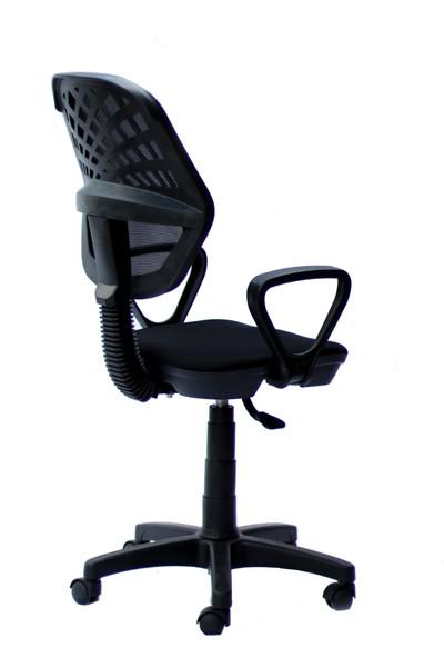 Orianna Design Siyah Fileli Bilgisayar Oyuncu Koltuğu Ofis Çalışma Sandalyesi Koltuğu Döner Sandalye