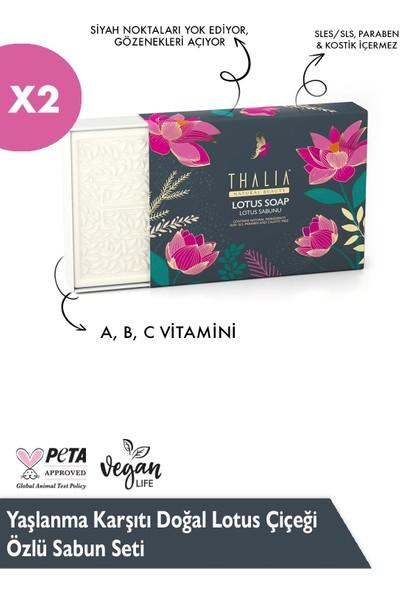 Thalia Yaşlanma Karşıtı Doğal Lotus Çiçeği Özlü Sabun Seti