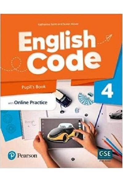 Pearson Education Yayıncılık English Code 4 Pupil's Book With Online Practice + Workbook - Katherine Scott - Susan House