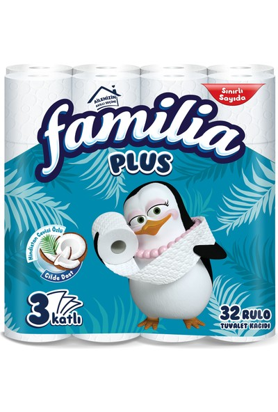 Familia Plus Coconut Özlü Tuvalet Kağıdı 32