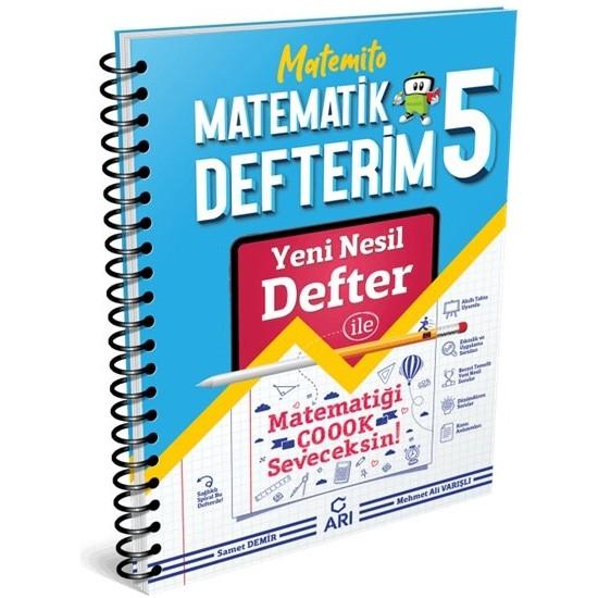 Arı Yayıncılık 5.Sınıf Matematik Matemito Defterim