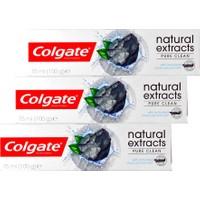 Colgate Natural Extracts Kömürlü 75 Ml X 3
