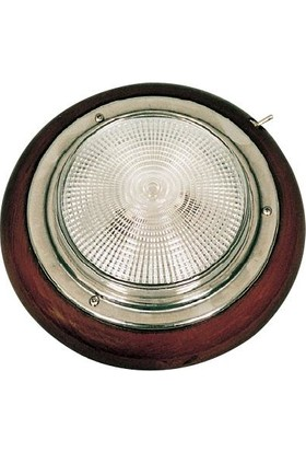 Easterner Tavan Lambası 15 cm Ahşap Ampul