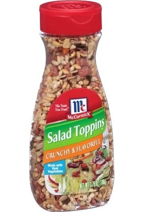 Mccormick Crunchy & Flavorful Salad Toppings 106 gr