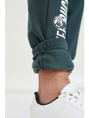 DeFacto Milwaukee Bucks Lisanslı Regular Fit Pamuklu Jogger Eşofman Altı U9844AZ21AU