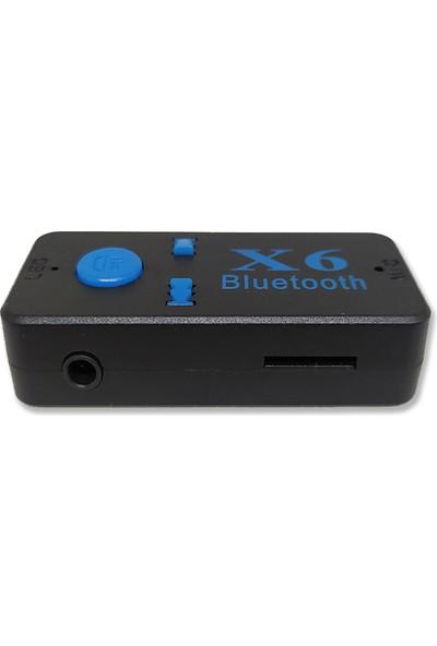 Bewell Bt-X6 3.5mm Jack Girişli Bluetooth Dönüştürücü