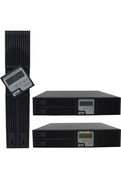 Inform Sınus Rack 3kva 6-13DK LCD 6X12V/9AH Online Ups 855591030001
