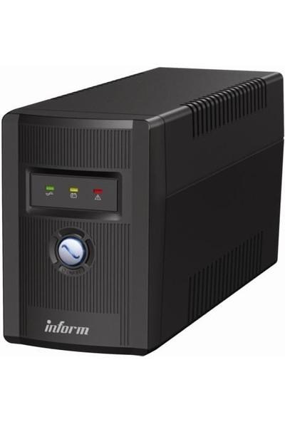 inform Guardian 1000VA LED 2X12V/7AH Line interactive Ups 879001100100