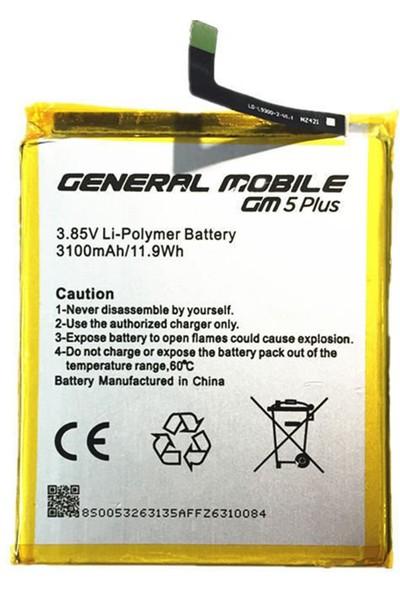 General Mobile Gm5 Için General Mobile NT-15455 3100 Mah Batarya