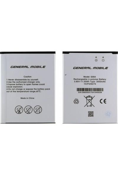 General Mobile Gm6 Için General Mobile G004 2800 Mah Batarya
