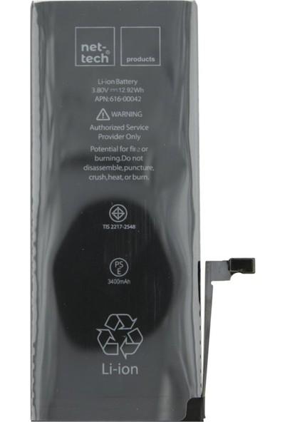 Nettech Apple iPhone 6 Plus Için Nettech NT-2015 3400 Mah Batarya