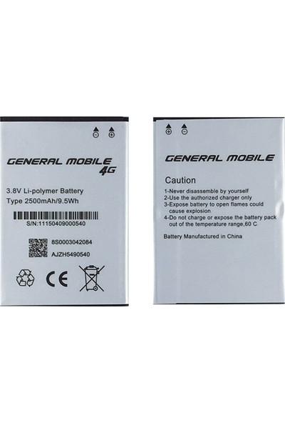 General Mobile Gm4 Için General Mobile One-4g 2500 Mah Batarya