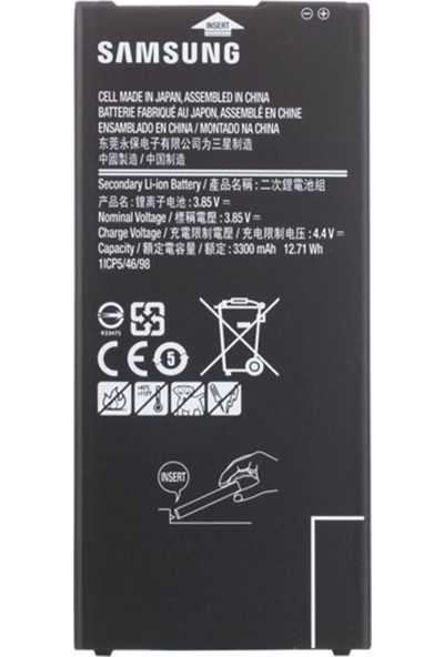 Samsung Galaxy J610 J6 Plus Için Samsung NT-85798 3000 Mah Batarya