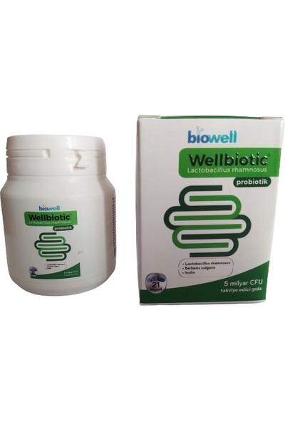 Biowell Wellbiotic Probiotic 21 Kapsül