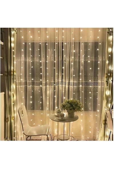 Ekspres Pazar Dekoratif Saçak LED Işık Ip Perde Sarkıt Yılbaşı Süs LED