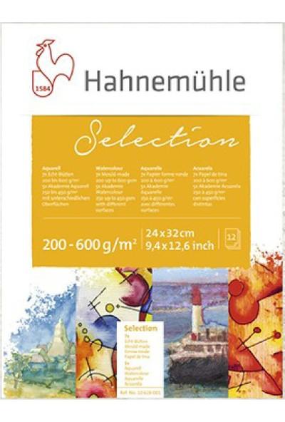 Hahnemühle Selection Suluboya Bloğu 24 x 32 12 Yaprak