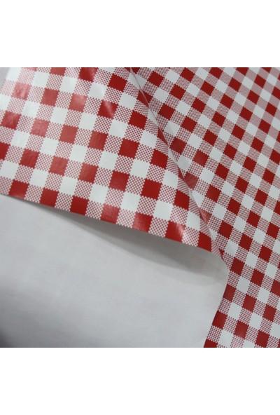 Dede Ev Tekstil Elyaf Astarlı Silinebilir Muşamba Masa Örtüsü 152-A1