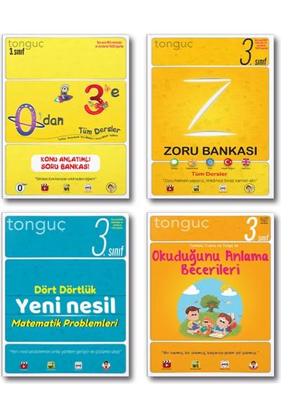 Tonguç 3. Sınıf 0 Dan 3 E Konu Anlatımlı Soru Bankası Zoru Set 2022 4 Kitap