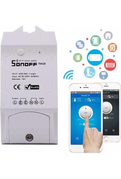 Sonoff Th 16+Sİ7021 Wifi Destekli Akıllı Nem Sensörü