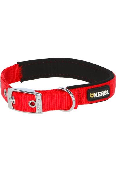 Kerbl Miami Plus Köpek Boyun Tasması Kırmızı - Siyah 33 - 39 cm